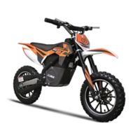 MotoTec 24-Volt Electric Dirt Bike in Orange