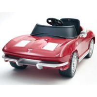 Kalee 12-Volt Corvette Stingray Electric Ride-On in Red