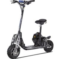 UberScoot 2x 50cc 2-Stroke Gas-Powered Scooter by Evo Powerboards in Black