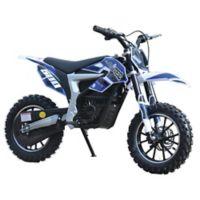 MotoTec 36-Volt Electric Lithium Dirt Bike in Blue