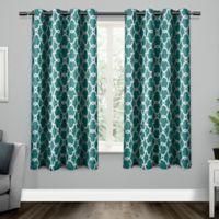 Gates Grommet Top Room Darkening Window Curtain Panel Pair