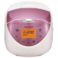Cuckoo Micom 6-Cup Rice Cooker and Warmer in Pink