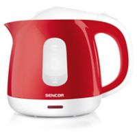 Sencor® 1-Liter Electric Kettle in Red