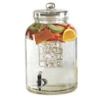 Circleware Brington 2.64-Gallon Beverage Dispenser with Fruit Infuser