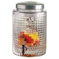 Circleware Windowpane 345 oz. Beverage Dispenser with Infuser