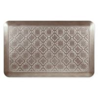 """Moroccan 32"""" x 20"""" Kitchen Mat in Iced Toffee"""