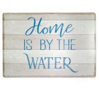 """Home is by the Water"" Laminated Placemat"