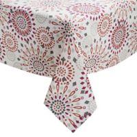 Veneta Medallion 60-Inch x 84-Inch Oblong Tablecloth