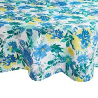 Winona Floral 70-Inch Round Tablecloth