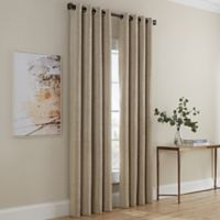 Dominic 63-Inch Grommet Window Curtain Panel in Linen