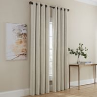 Dominic 63-Inch Grommet Window Curtain Panel in Ivory