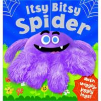 """""""Itsy Bitsy Spider"""" Textured Book"""
