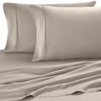 Eucalyptus Origins™ Tencel® Lyocell Standard Pillowcases in Sable (Set of 2)