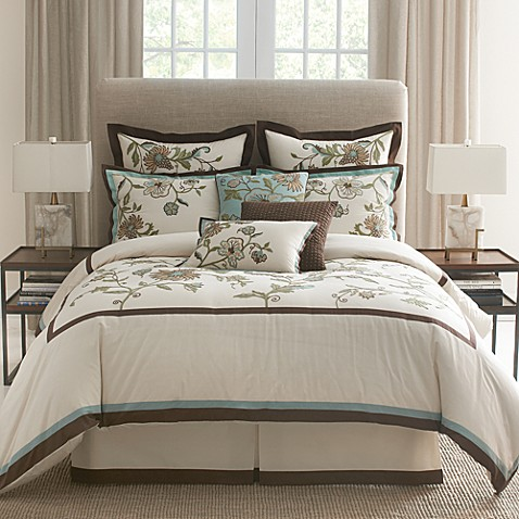 Mill Valley 4-Piece Queen Comforter Set