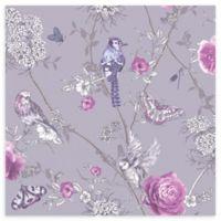Arthouse Paradise Garden Wallpaper in Lilac