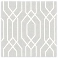 Arthouse New York Geo Wallpaper in Grey
