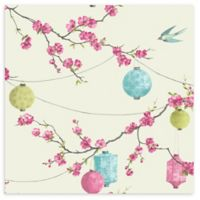 Arthouse Chinese Garden Wallpaper in Pink