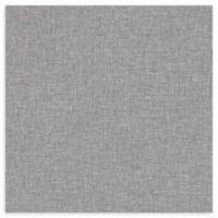 Arthouse Linen Textures Wallpaper in Grey