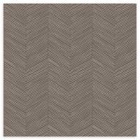 Arthouse Arrow Weave Wallpaper in Cocoa