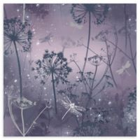 Arthouse Damselfly Wallpaper in Purple
