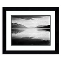 Amanti Art Evening, McDonald Lake, MT 25-Inch x 21-Inch Framed Art Print