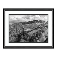 Amanti Art North Palisade from Windy Point 24-Inch x 19-Inch Framed Art Print