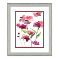 Amanti Art Razzleberry Blossoms 24-Inch x 28-Inch Framed Art Print