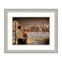 Amanti Art Reflections IV 29-Inch x 24-Inch Framed Art Print