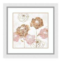 Amanti Art Rose Garden I by Isabelle Z 28-Inch Square Framed Art Print