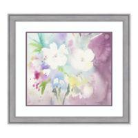 Amanti Art Serenity by Sheila Golden 30-Inch x 27-Inch Framed Art Print