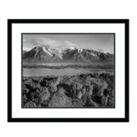 Amanti Art View Across River Valley,WY 1941 26-Inch x 22-Inch Framed Art Print
