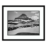 Amanti Art View From Logan Pass,MT 1941 23-Inch x 19-Inch Framed Art Print