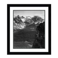 Amanti Art View of Snow-Capped Mountain, Colorado 27-Inch x 31-Inch Framed Art Print