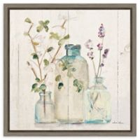 Amanti Art Blossoms on Birch V 16-Inch Square Framed Canvas Wall Art