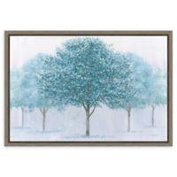 Amanti Art Peaceful Grove 23-Inch x 16-Inch Framed Canvas Wall Art