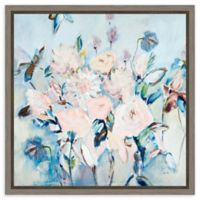 Amanti Art Sweetness&Light II V2 (Floral) 16-Inch Square Framed Canvas Wall Art