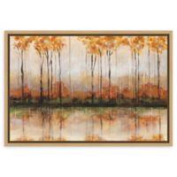 Amanti Art Treeline by Jack Roth 23-Inch x 16-Inch Framed Canvas Wall Art