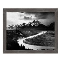 Amanti Art The Tetons - Snake River, 1941 27-Inch x 22-Inch Framed Canvas Wall Art