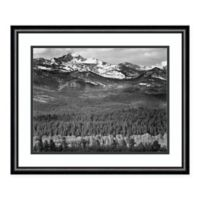 Amanti Art Longs Peak from Road 24-Inch x 20-Inch Framed Art Print