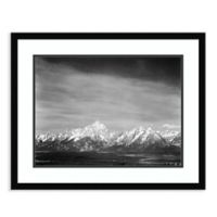 Amanti Art Tetons from Signal Mountain 26-Inch x 21-Inch Framed Art Print