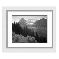 Amanti Art Trees Bushes&Mountains,Glacier NP 27-Inch x 23-Inch Framed Art Print