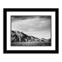 Amanti Art View of Mountains Near Death Valley 28-Inch x 23-Inch Framed Art Print