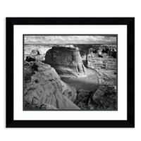 Amanti Art View of Valley from Mountain 28-Inch x 24-Inch Framed Art Print
