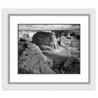 Amanti Art View of Valley from Mountain 30-Inch x 26-Inch Framed Art Print