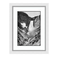 Amanti Art Yellowstone Falls, WY 24-Inch x 31-Inch Framed Art Print