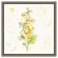 Amanti Art Floral Splash IV 16-Inch Square Framed Canvas Wall Art