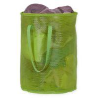 Household Essentials® Eva Round Mesh Laundry Hamper in Green