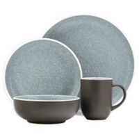 Sango Tailor Granite 16-Piece Dinnerware Set in Brown