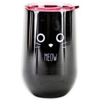 Stainless Steel Cat Meow Wine Tumbler