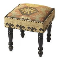 Butler Specialty Company Mountain Lodge Ottoman in Brown